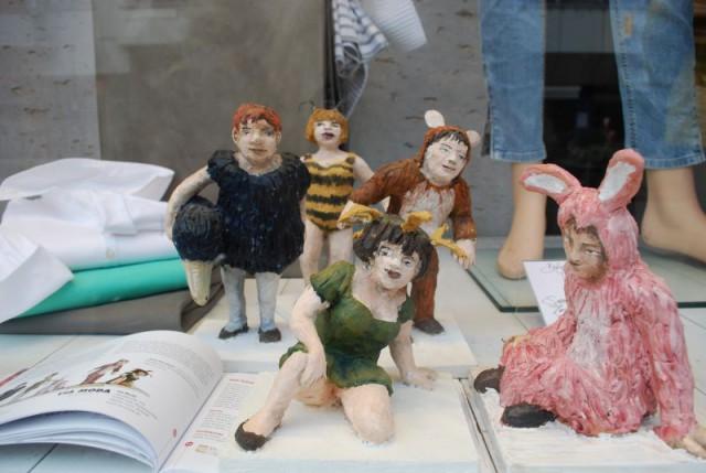 Skulpturen Bettina Bouchon