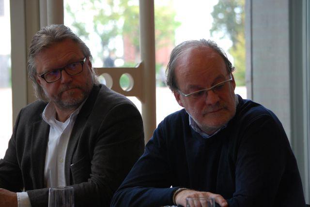 Werner Fredebold und Hejo Edmons