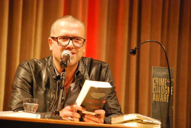 Der Preisträger des letzen Jahres Bernhard Aichner