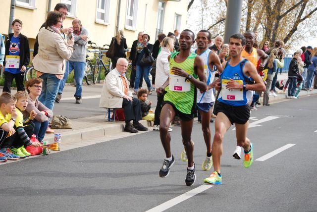 Das Spitzenfeld des Marathons