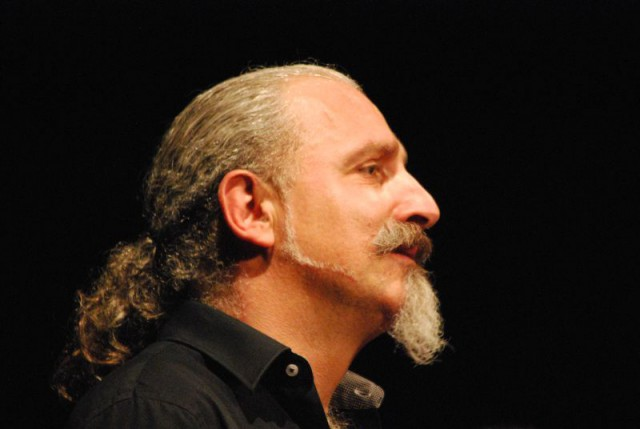 Giuseppe Giuranna, gehörloser Gebärden Poet