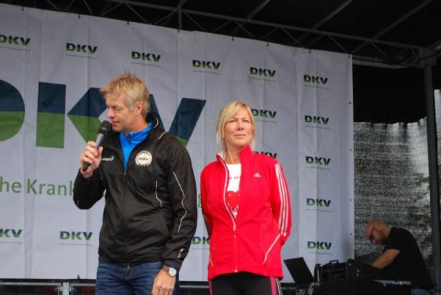 Ulrike von der Groeben, der Sohn auch unter einem Herzfehler gelitten hat und inzwischengesund ist und erste Erfolge als Schauspieler feiert.