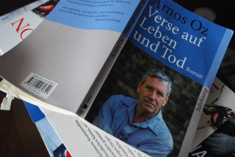 Oz Bücher machen im Hause Zabaiones einiges mit, diese Exemplar wurde auf dem Balkon vergessen und es sieht so aus aus als hätten Vögel dran geknabbert