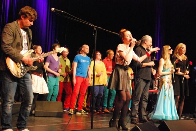 Finale u.a mit der Mischka Gohlke Band