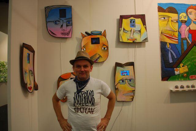 #artfair #cologne #JimAvignon den ich schon auf der Kölner Museumsnacht erleben konnte!