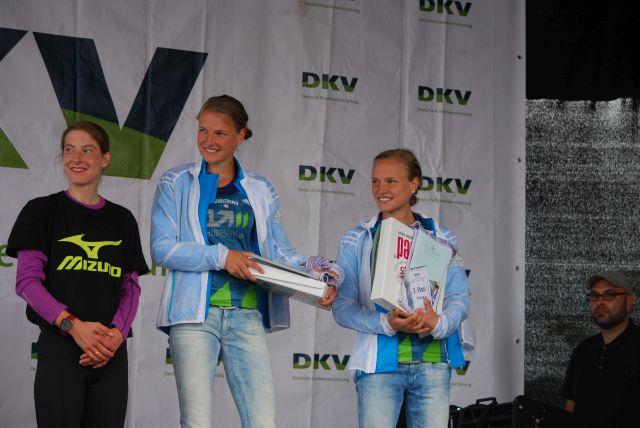 2.Susanne Hahn, 1. Lisa Hahner und 3. Anna Hahner