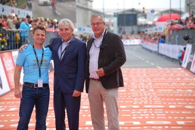 race Direktor Markus Frisch und OB Burger,.....