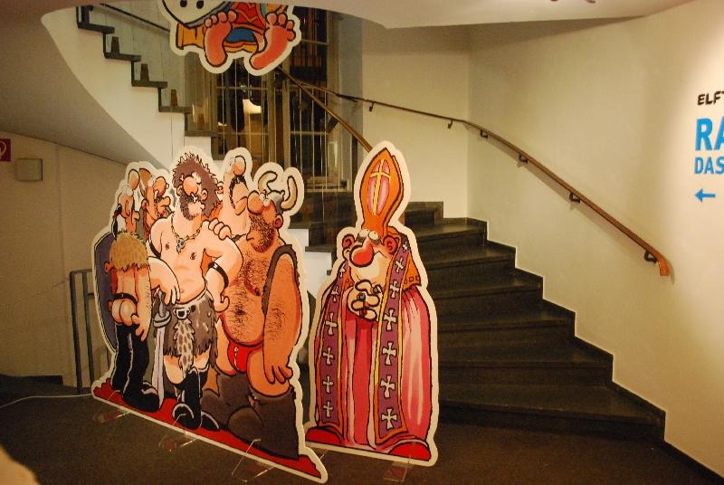 DSC 4156 Comics und Kunst   Art Spiegelman und Ralf König stellen in Köln aus.