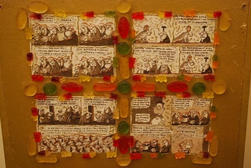 DSC 4159xx2 Comics und Kunst   Art Spiegelman und Ralf König stellen in Köln aus.