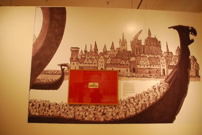 DSC 4196 Comics und Kunst   Art Spiegelman und Ralf König stellen in Köln aus.