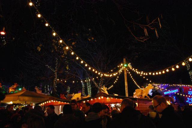 Weihnachtsmarkt am Stadtgarten