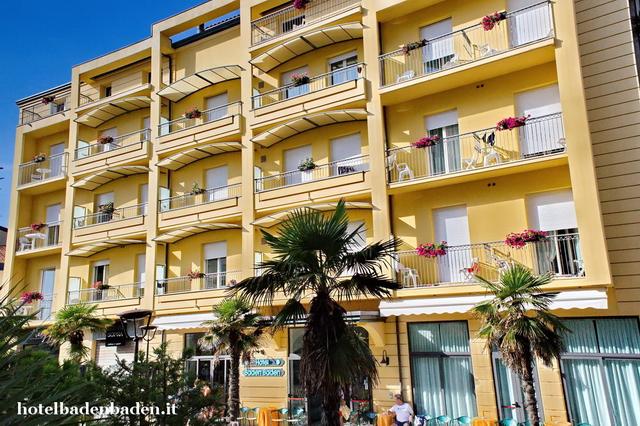 Riccione, Adria, Italien Hotel Baden Baden